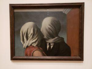 ルネ・マグリット「恋人たち」