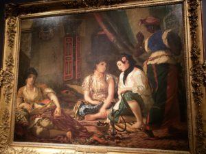 ウジェーヌ・ドラクロワ「アルジェの女たち」