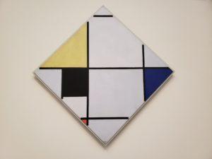 ピエト・モンドリアン「菱形のコンポジション」