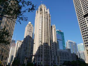 シカゴの高層ビル群
