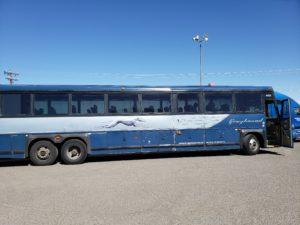 グレイハウンド・バス(アルバカーキ~フラッグスタッフ)
