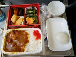 中国国際航空の機内食(羽田~北京)