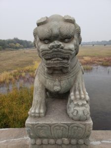 盧溝橋の獅子(北京)