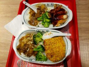 北京西駅の「徳克師」で食べた昼食