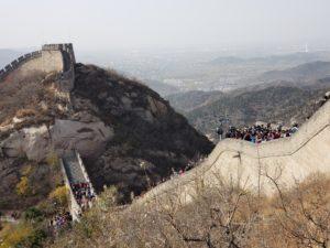八達嶺(万里の長城)