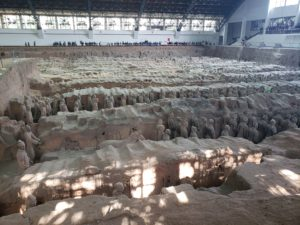 秦始皇帝陵博物院(1号坑)