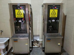 給湯器と給水器(南京駅)