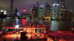 黄浦江の渡し船