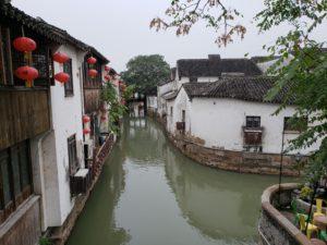 山塘街の運河