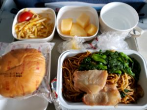 中国国際航空の機内食